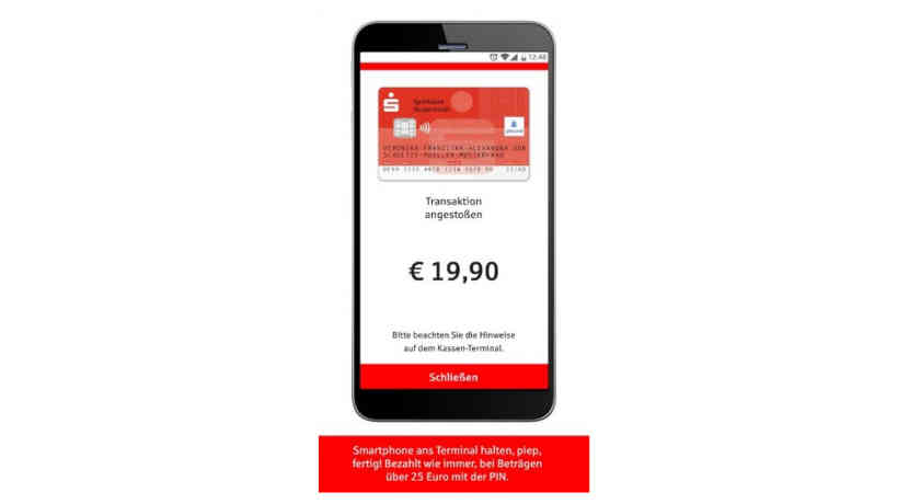 Sparkasse startet am 30. Juli Google Pay Alternative