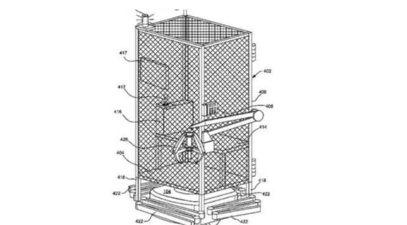 Sklaven? Amazon patentiert Käfig für Angestellte