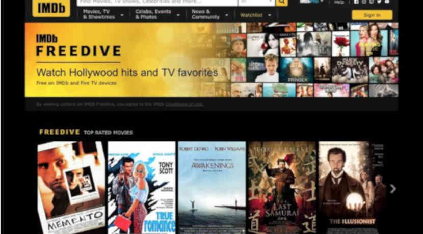 Amazon startet kostenlosen Streaming-Dienst IMDb Freedrive