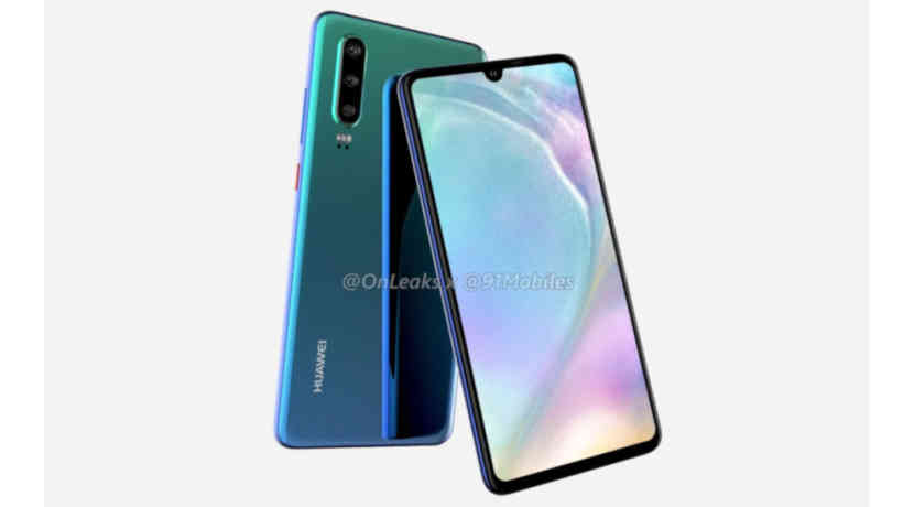 Leaker zeigt Video des Huawei P30 Pro Smartphone